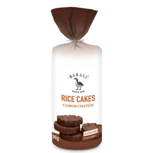 Carob Coated Rice Cakes