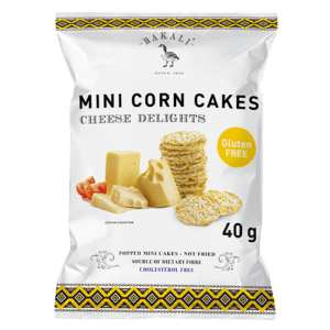 Cheese Delight Mini Corn Cakes