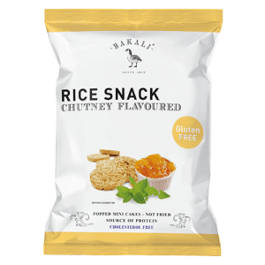 Chutney Flavoured Mini Rice Cakes