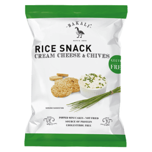 Cream Cheese & Chives Mini Rice Cakes
