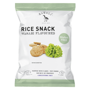 Wasabi Flavoured Mini Rice Cakes