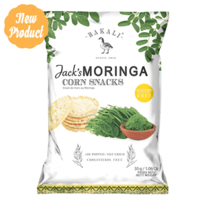Moringa Mini Corn Cakes