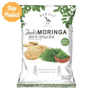 Moringa Mini Rice Cakes